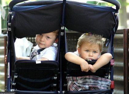 geschwister kinderwagen